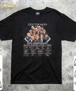 Funny Doctor Who 56th anniversary 1963 2019 signatures shirt 1 2 1 247x296 - Funny Doctor Who 56th anniversary 1963-2019 signatures shirt