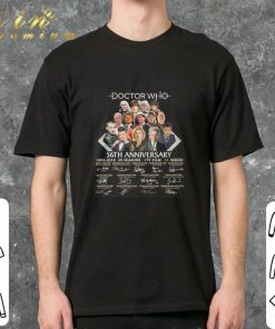 Funny Doctor Who 56th anniversary 1963 2019 signatures shirt 2 2 1 247x296 - Funny Doctor Who 56th anniversary 1963-2019 signatures shirt