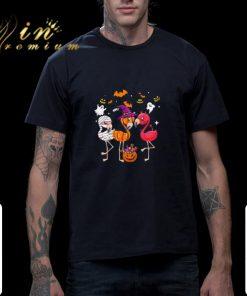 Funny Flamingos happy halloween shirt 2 1 247x296 - Funny Flamingos happy halloween shirt
