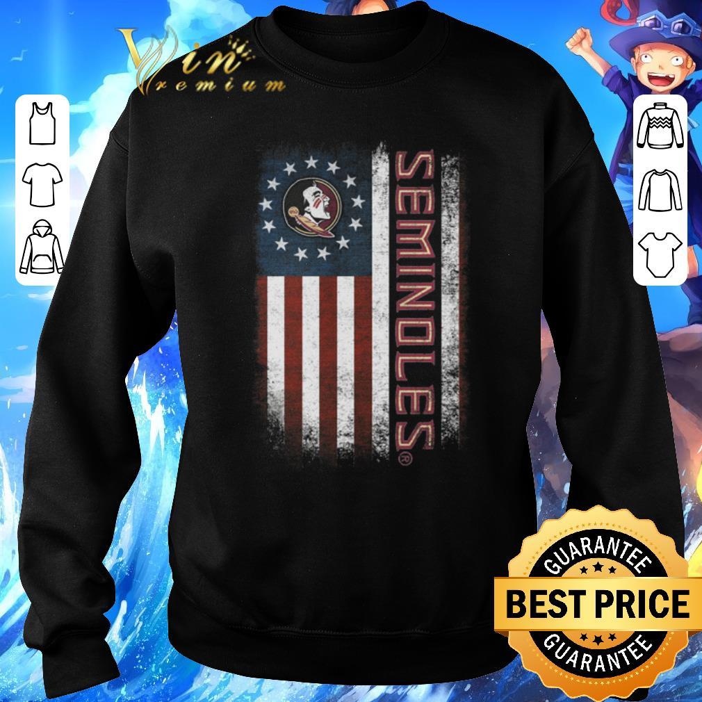 Funny Florida State Seminoles FSU Betsy Ross flag shirt