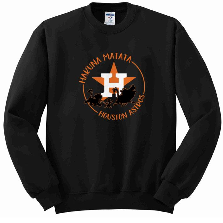 Funny Houston Astros Hakuna Matata shirt