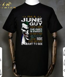 Funny I m a june guy i have 3 sides the quiet sweet Joker shirt 1 1 247x296 - Funny I'm a june guy i have 3 sides the quiet & sweet Joker shirt