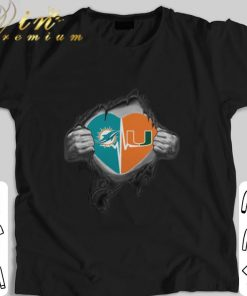 Funny Miami Dolphins Miami Hurricanes inside my heart shirt 1 1 247x296 - Funny Miami Dolphins Miami Hurricanes inside my heart shirt