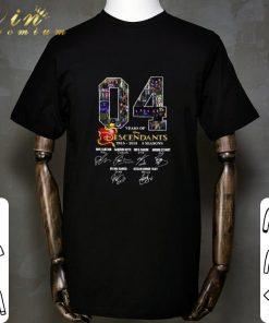 Hot 04 Years of Descendants 2015 2019 3 seasons signatures shirt 1 1 247x296 - Hot 04 Years of Descendants 2015-2019 3 seasons signatures shirt