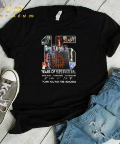 Hot 15 years of Supernatural 2005 2020 thank you for the memories shirt 1 1 247x296 - Hot 15 years of Supernatural 2005-2020 thank you for the memories shirt
