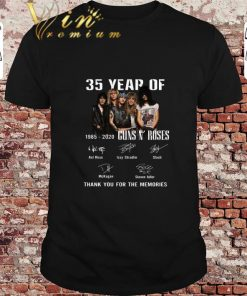 Hot 35 Year Of Gun N Roses 1985 2020 Thank You For The Memories shirt 1 1 247x296 - Hot 35 Year Of Gun N' Roses 1985-2020 Thank You For The Memories shirt