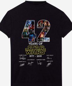 Hot 42 Years Of Star Wars Signature shirt 1 1 247x296 - Hot 42 Years Of Star Wars Signature shirt