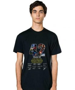 Hot 42 Years Of Star Wars Signature shirt 2 1 247x296 - Hot 42 Years Of Star Wars Signature shirt