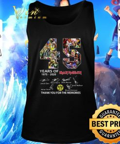 Hot 45 years of Iron Maiden signatures thank you the memories shirt 2 1 247x296 - Hot 45 years of Iron Maiden signatures thank you the memories shirt