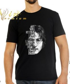 Hot All you need is love John Lennon rest in peace 1940 1980 shirt 2 1 247x296 - Hot All you need is love John Lennon rest in peace 1940 1980 shirt