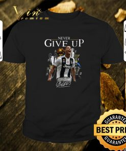 Hot Cristiano Ronaldo Never give up signature shirt 1 1 247x296 - Hot Cristiano Ronaldo Never give up signature shirt