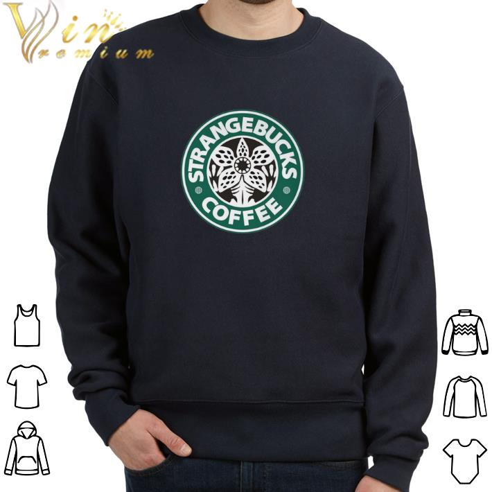 Hot Demogorgon Strangebucks coffee Stranger Things shirt