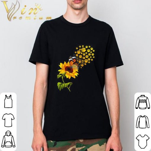 Hot Dog paw sunflower and butterfly shirt 2 1 510x510 - Hot Dog paw sunflower and butterfly shirt