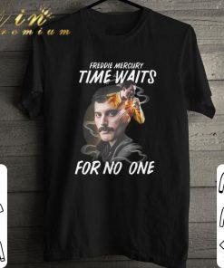 Hot Freddie Mercury time waits for no one shirt 1 1 247x296 - Hot Freddie Mercury time waits for no one shirt