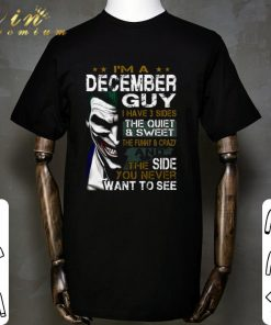 Hot Joker i m a december guy i have 3 sides the quiet sweet the shirt 1 1 247x296 - Hot Joker i'm a december guy i have 3 sides the quiet & sweet the shirt