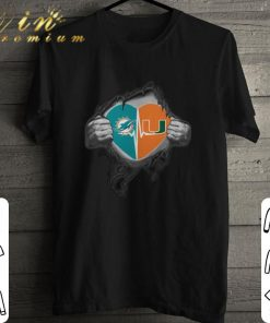 Hot Miami Dolphins Miami Hurricanes inside my heart shirt 1 1 247x296 - Hot Miami Dolphins Miami Hurricanes inside my heart shirt