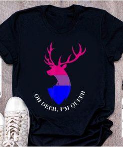 Hot Oh Deer I m Queer LGBT Bisexual Pride 1 1 247x296 - Hot Oh Deer I'm Queer LGBT Bisexual Pride