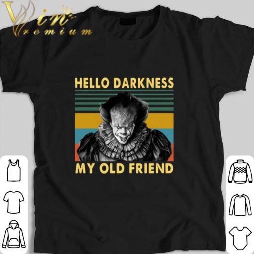 Hot Pennywise hello darkness my old friend vintage shirt 1 1 510x510 - Hot Pennywise hello darkness my old friend vintage shirt
