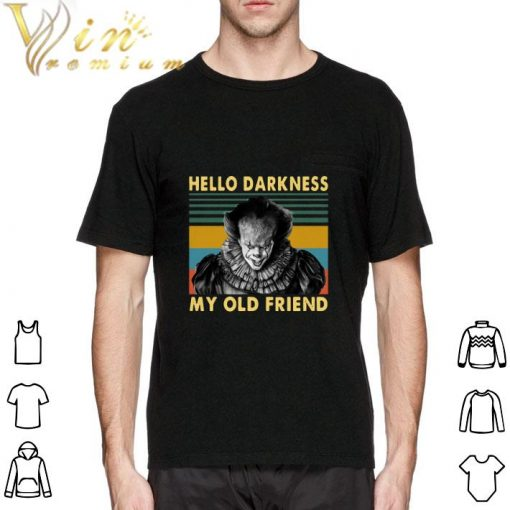 Hot Pennywise hello darkness my old friend vintage shirt 2 1 510x510 - Hot Pennywise hello darkness my old friend vintage shirt