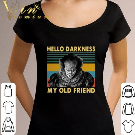 Hot Pennywise hello darkness my old friend vintage shirt 3 1 510x510 - Hot Pennywise hello darkness my old friend vintage shirt