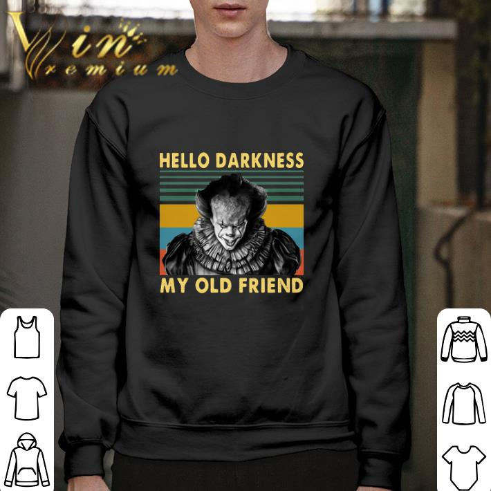 Hot Pennywise hello darkness my old friend vintage shirt