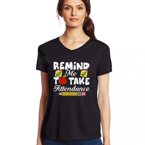 Hot Remind me to take Attendance back To Shool shirt 3 1 510x510 - Hot Remind me to take Attendance back To Shool shirt