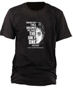 Nice John Lennon You may say i m a dreamer but i m not the only one shirt 1 1 247x296 - Nice John Lennon You may say i'm a dreamer but i'm not the only one shirt