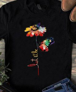 Nice Let It Be Colorful Flower And Butterfly shirt 1 1 247x296 - Nice Let It Be Colorful Flower And Butterfly shirt