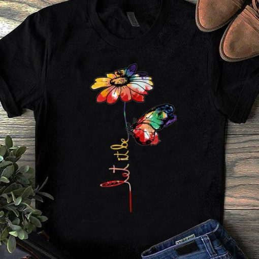 Nice Let It Be Colorful Flower And Butterfly shirt 1 1 510x510 - Nice Let It Be Colorful Flower And Butterfly shirt