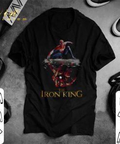 Nice Spider Man reflection Iron Man The Iron King shirt 1 1 247x296 - Nice Spider Man reflection Iron Man The Iron King shirt