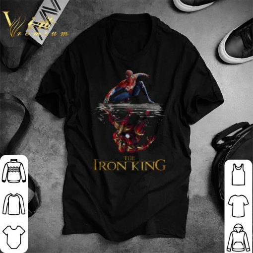 Nice Spider Man reflection Iron Man The Iron King shirt 1 1 510x510 - Nice Spider Man reflection Iron Man The Iron King shirt