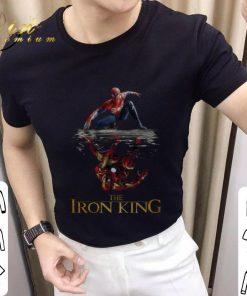 Nice Spider Man reflection Iron Man The Iron King shirt 2 1 247x296 - Nice Spider Man reflection Iron Man The Iron King shirt
