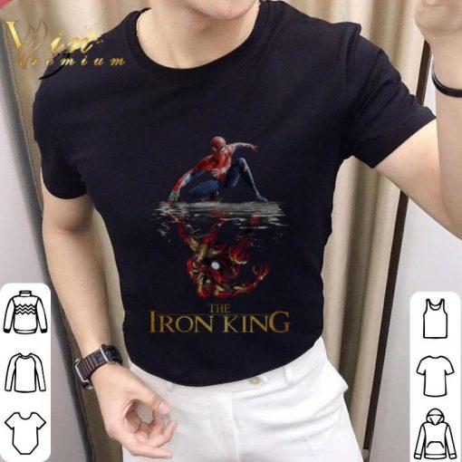 Nice Spider Man reflection Iron Man The Iron King shirt 2 1 510x510 - Nice Spider Man reflection Iron Man The Iron King shirt