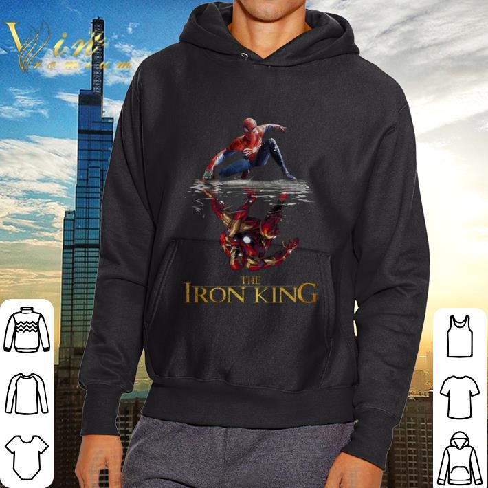Nice Spider Man reflection Iron Man The Iron King shirt