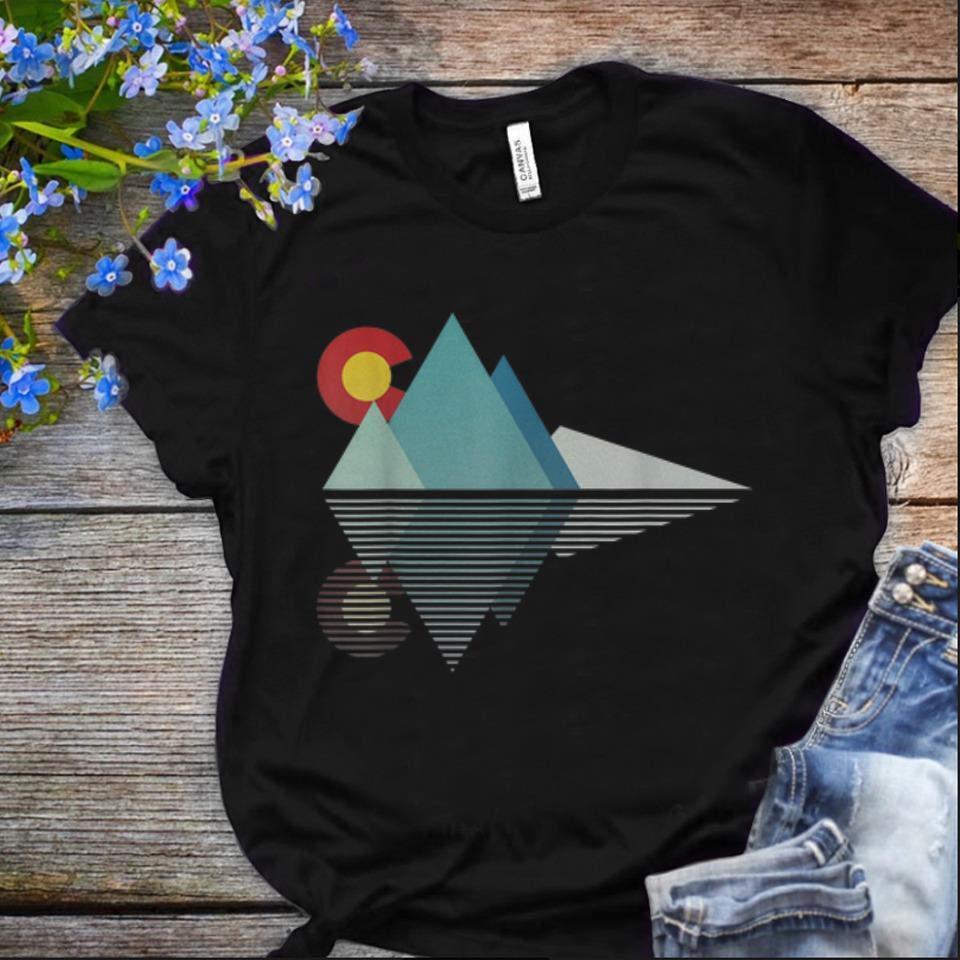 Offcical Colorado Flag Mountain shirt