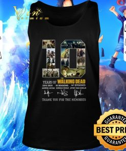 Official 10 Years of The Walking Dead 2010 2020 signatures shirt 2 1 247x296 - Official 10 Years of The Walking Dead 2010-2020 signatures shirt