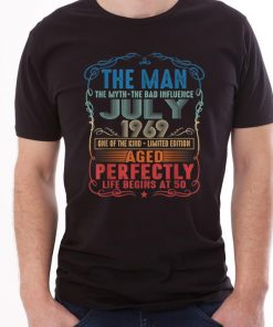 Official 50th Birthday The Man Myth Bad Influence July 1969 shirt 1 1 247x296 - Official 50th Birthday The Man Myth Bad Influence July 1969 shirt