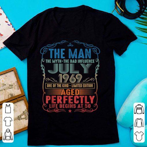 Official 50th Birthday The Man Myth Bad Influence July 1969 shirt 2 1 510x510 - Official 50th Birthday The Man Myth Bad Influence July 1969 shirt