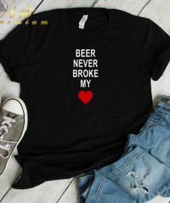 Official Beer never broke my heart shirt 1 1 247x296 - Official Beer never broke my heart shirt