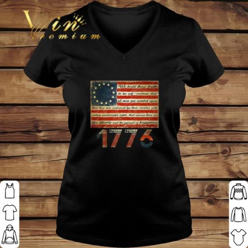 Official Betsy Ross Flag Life Liberty and Pursuit of Happiness 1776 shirt 2 1 510x510 - Official Betsy Ross Flag Life Liberty and Pursuit of Happiness 1776 shirt