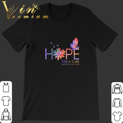 Official Butterfly Hope for a cure Alzheimer Awareness flower shirt 1 1 510x510 - Official Butterfly Hope for a cure Alzheimer Awareness flower shirt