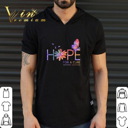 Official Butterfly Hope for a cure Alzheimer Awareness flower shirt 2 1 510x510 - Official Butterfly Hope for a cure Alzheimer Awareness flower shirt