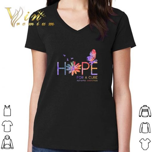 Official Butterfly Hope for a cure Alzheimer Awareness flower shirt 3 1 510x510 - Official Butterfly Hope for a cure Alzheimer Awareness flower shirt