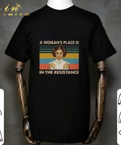 Official Carrie Fisher A woman s place is in the resistance vintage shirt 1 1 247x296 - Official Carrie Fisher A woman's place is in the resistance vintage shirt