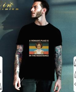 Official Carrie Fisher A woman s place is in the resistance vintage shirt 2 1 247x296 - Official Carrie Fisher A woman's place is in the resistance vintage shirt