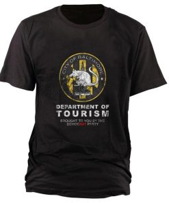 Official City of Baltimore Department of Tourism shirt 1 1 247x296 - Official City of Baltimore Department of Tourism shirt