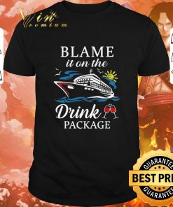 Official Cruise ship Blame it on the drink package shirt 1 1 247x296 - Official Cruise ship Blame it on the drink package shirt