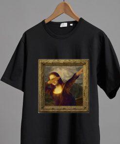 Official Dabbing Mona Lisa Painting shirt 2 1 247x296 - Official Dabbing Mona Lisa Painting shirt