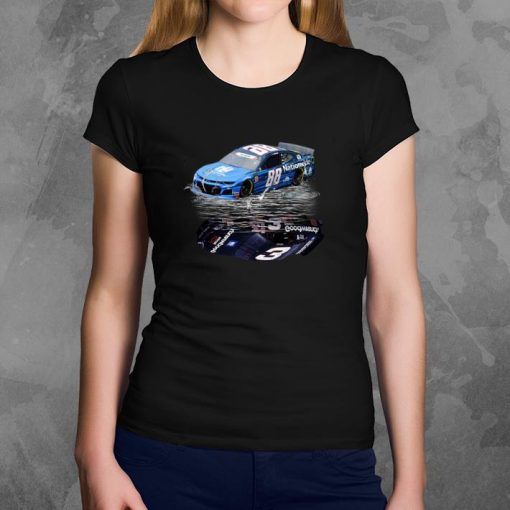 Official Dale Earnhardt Jr car water mirror reflection shadow shirt 3 2 1 510x510 - Official Dale Earnhardt Jr. car water mirror reflection shadow shirt