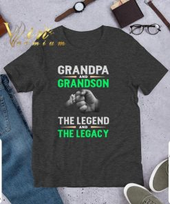 Official Grandpa and grandson the legend and the legacy shirt 1 1 247x296 - Official Grandpa and grandson the legend and the legacy shirt